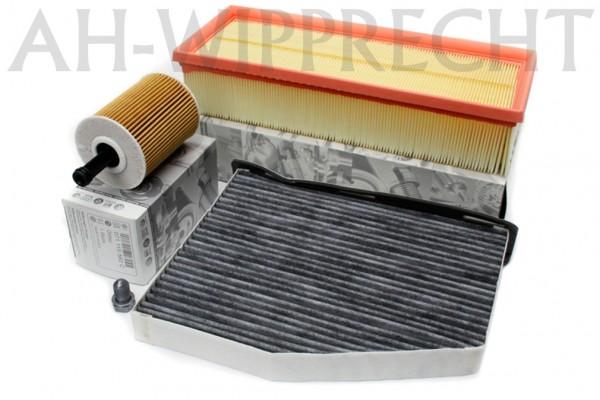Inspektionspaket Original VW 1.9/2.0 TDI Motor Diesel Ölfilter Pollenfilter Luftfilter