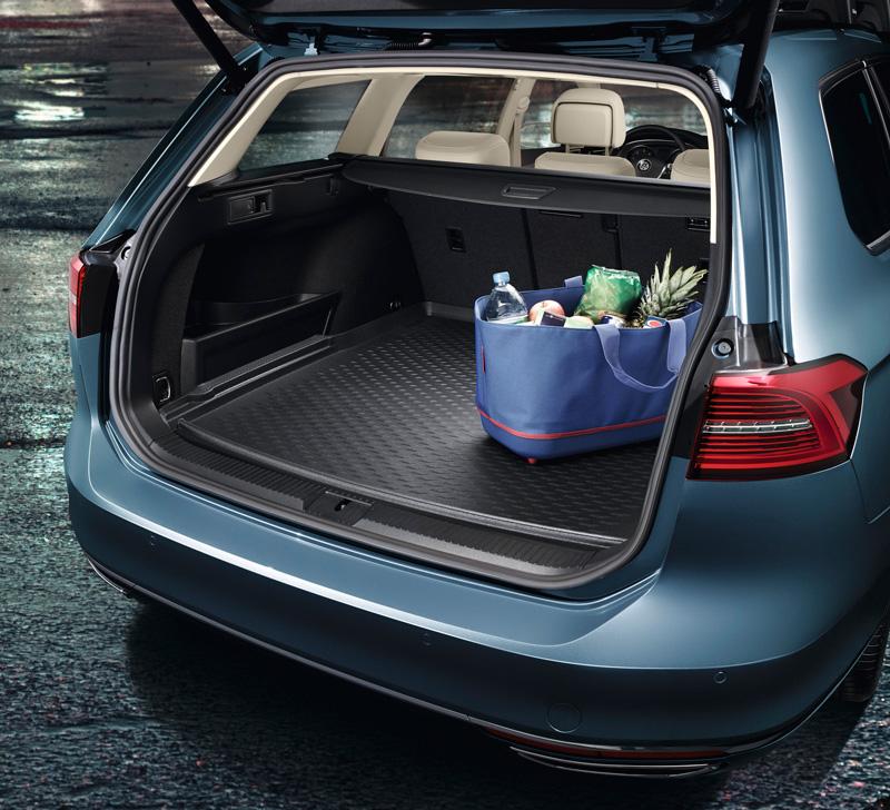 Kofferraumwanne für VW Passat B8 Limousine 2014 tief