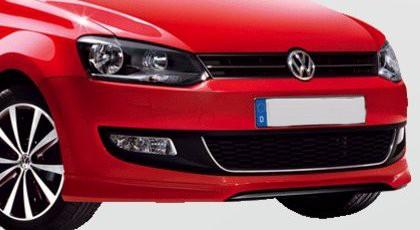 VW Polo Frontschürze, Stoßstange vorne Spoiler