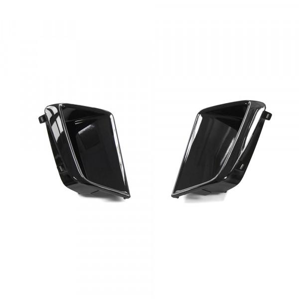 Original Audi RSQ3 (8U) Abdeckung Luftführunsgitter vorn Blenden Lufteinlass schwarz glänzend