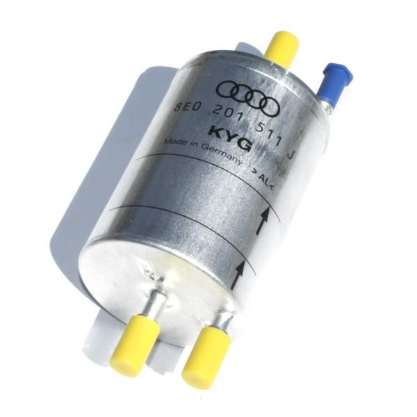 Kraftstofffilter Filter Druckregler Original Audi A4 Benzinfilter 1.8T Quattro 8E0201511J