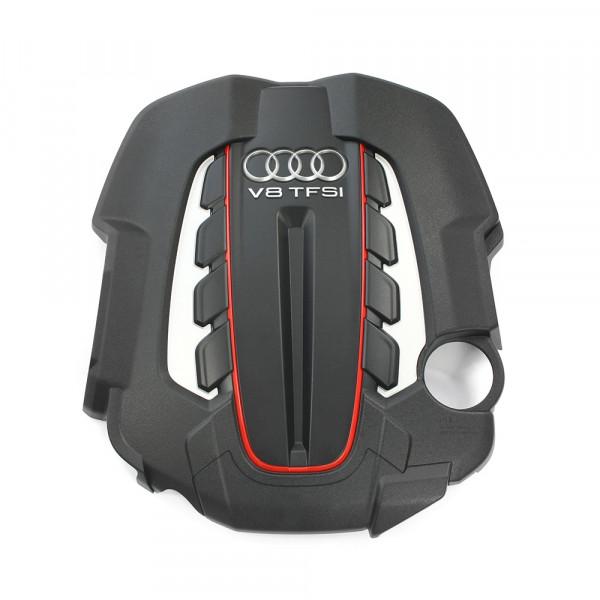 Original Audi S6 S7 (C7) V8 Motor Abdeckung 4.0 TFSI Verkleidung Hitzeschutzblech