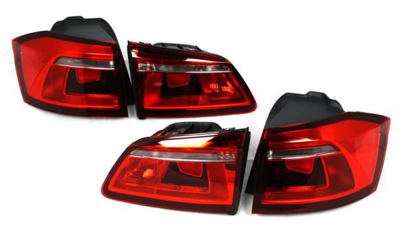 Rückleuchten Set Original VW Golf Sportsvan abgedunkelt Schlussleuchten Tuning