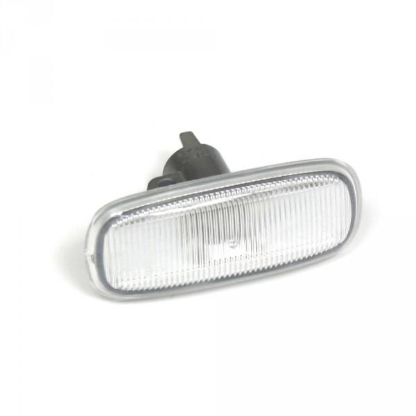 Original Audi Blinkleuchte seitlich Kotflügel Blinker weiß Licht