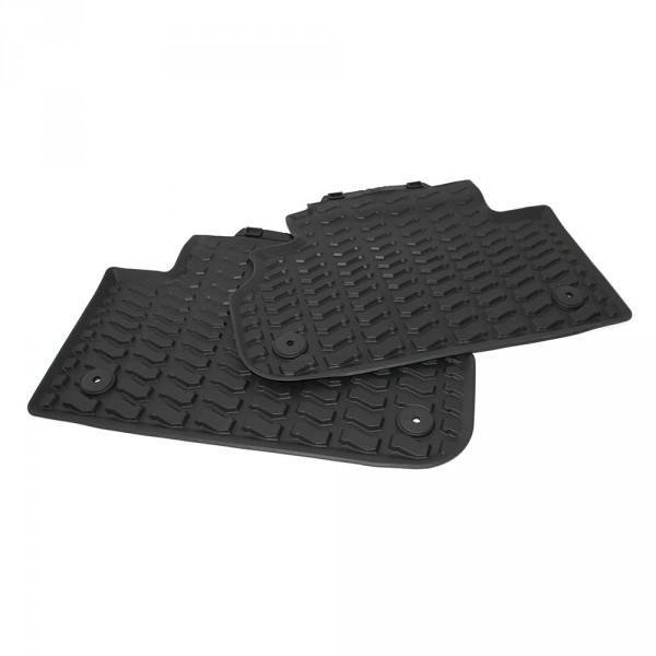 Original Audi Q5 SQ5 Gummi Fußmatten hinten Gummimatten Allwettermatten schwarz