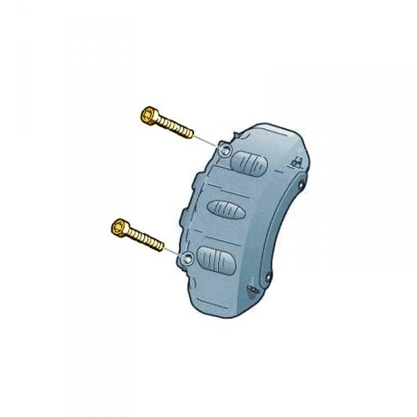 Zylinderschraube Innenvielzahnkopf M12x1.5x115 Bremsbeläge N91183701