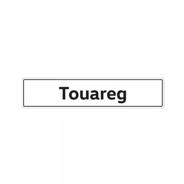 Original VW Kennzeichenschild Touareg Nummernschild Kennzeichen Typenschild 7P0071801B