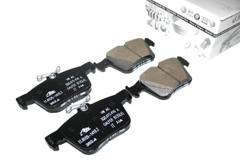 Febi 107516 Bremsscheiben Scheibenbremsen 2 Stück VW Audi