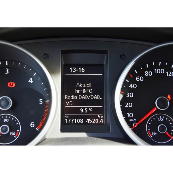 Original VW Nachrüstsatz DAB+ Radio Digitalradio Fernbedienung Radioempfang 000063212B