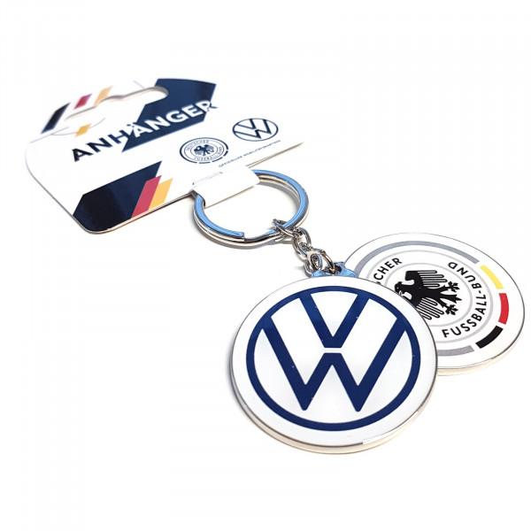Original VW Schlüsselanhänger Deutschland Fußball DFB Fanartikel wedrivefootball Anhänger rund