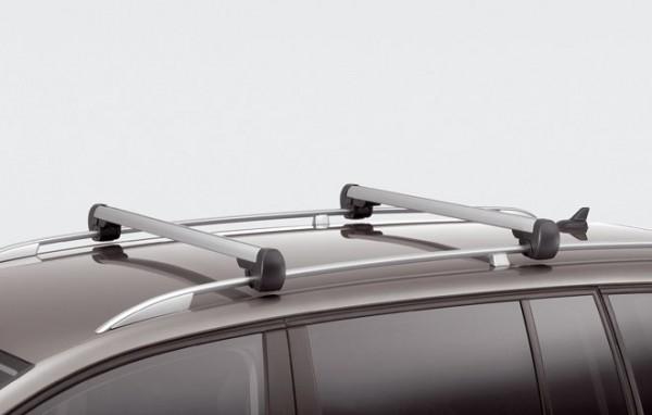 Touran Grundträger Dachträger Original VW Dachreling silber Dachgepäck