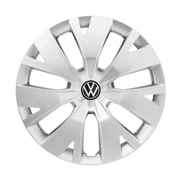 Original VW T-Cross Radkappen 16 Zoll Radzierblenden Stahlfelgen silber 2GM071456AUWP