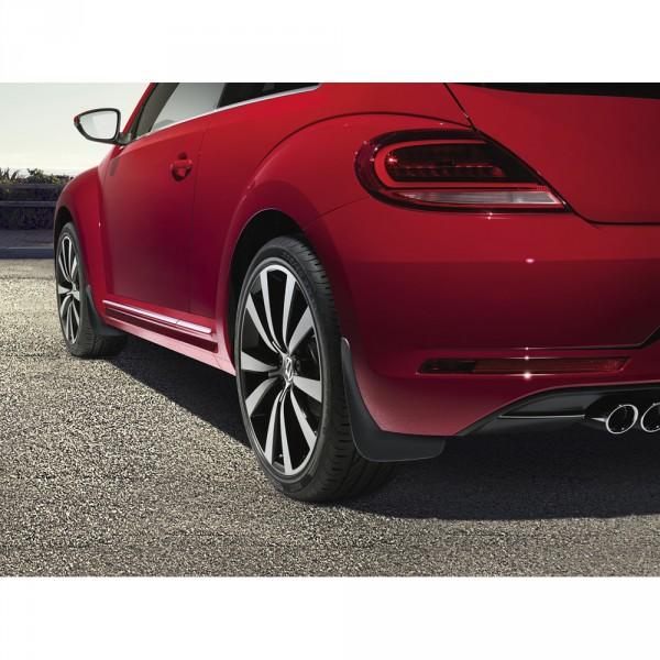 Original VW Beetle (5C) Schmutzfänger hinten schwarz genarbt