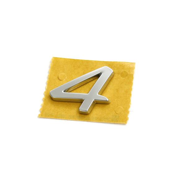 Original Seat 4 Schriftzug hinten Heckklappe Allrad Emblem Logo alu standard