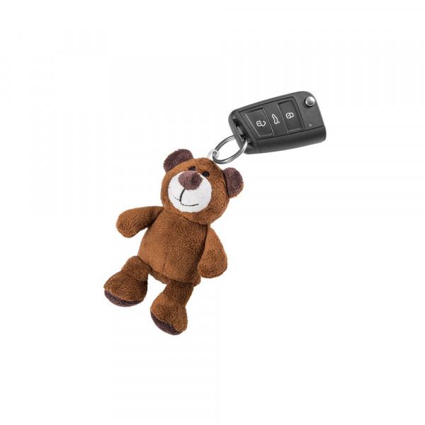 Original Skoda Schlüsselanhänger Teddybär Kodiaq 11 cm Anhänger Stofftier