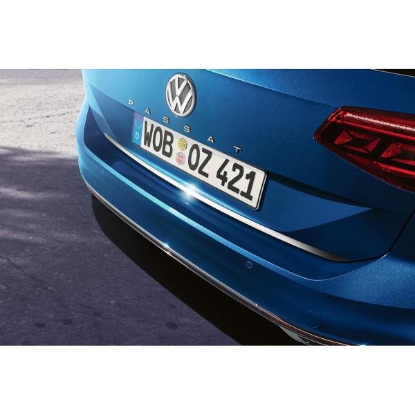 Original VW Passat B8 Facelift Variant Alltrack Schutzleiste Heckklappe Chromoptik