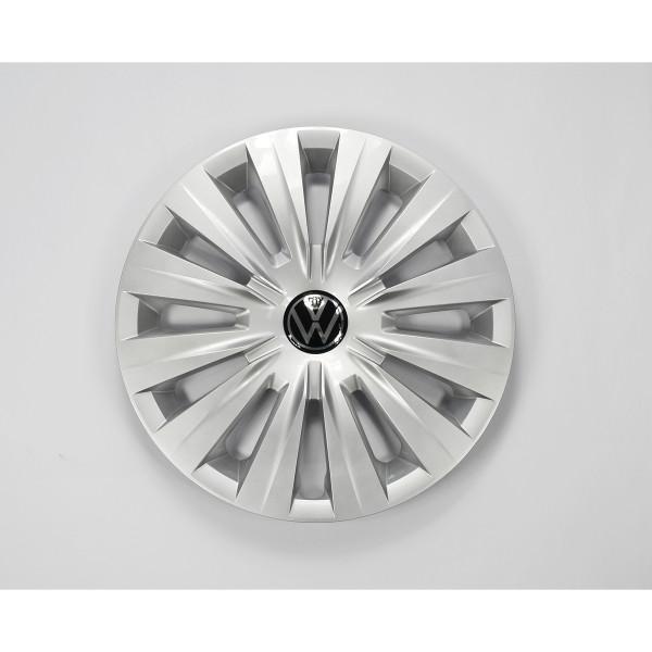 VW Golf 8 (5H) Radzierblende 15 Zoll Original Radkappe Reifen Räder silber schwarz
