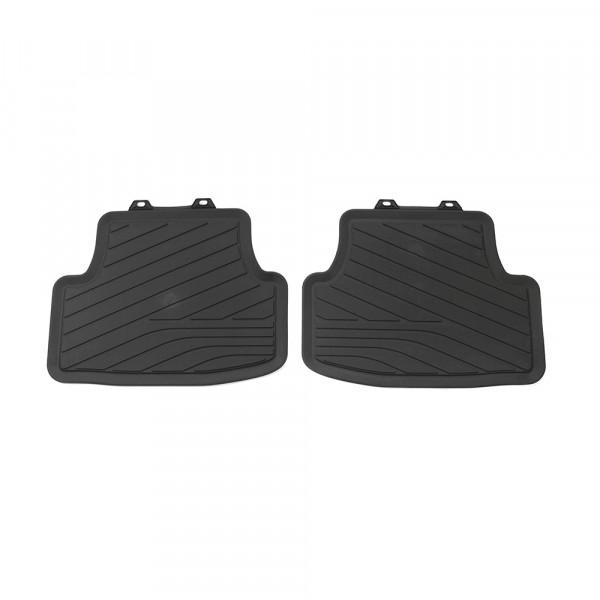 Original VW Golf 8 (5H) Gummi Fußmatten Allwettermatten 2x Gummimatten hinten 5H006151282V