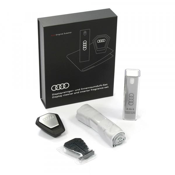 Original Audi Displayreiniger Duftspender Pflegeset Reinigungstuch Box 80A057800