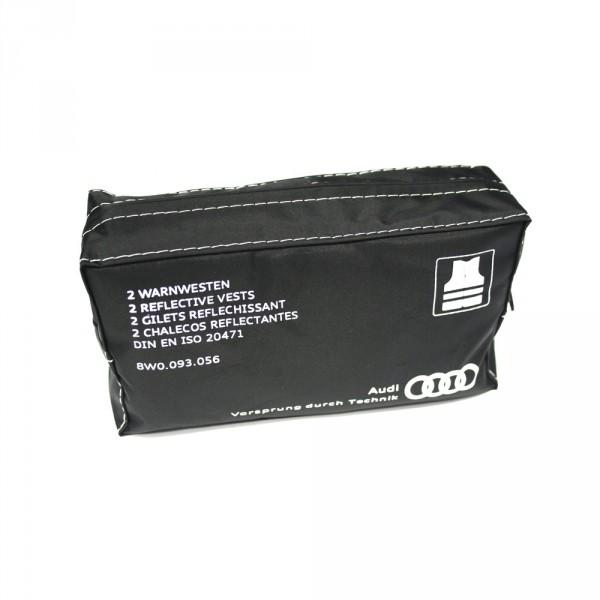 Audi Warnwesten Set Original Sicherheitswesten Pannenhilfe