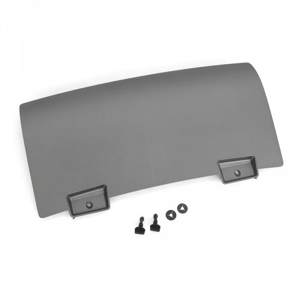 Original Audi Q5 (8R) S-Line Verschlussdeckel mitte für AHK Anhänger Blende platiniumgrau