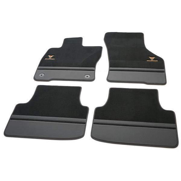Original CUPRA Formentor Premium Fußmatten Textilfußmatten Kupfer Carbon 5FG863011DLOE