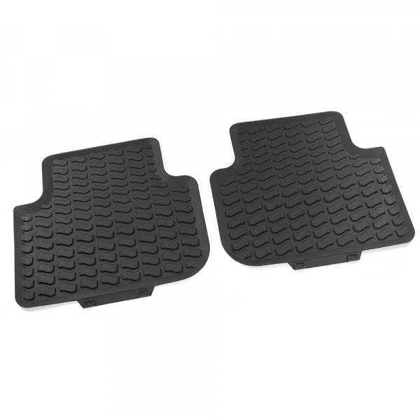 Original Audi Q3 (F3) Gummi Fußmatten hinten Gummimatten Allwettermatten schwarz