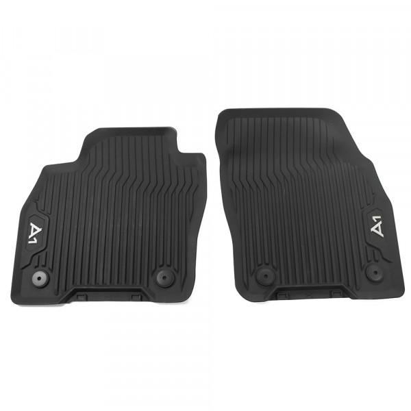 Original Audi A1 (GB) Sportback Gummi Fußmatten vorn Gummimatten Allwettermatten schwarz