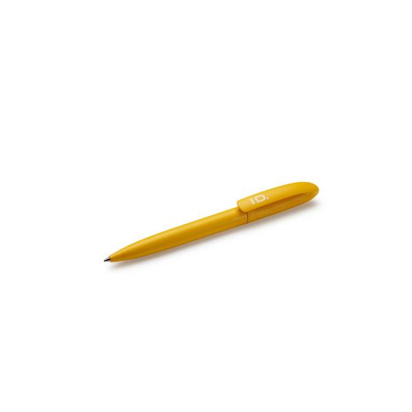 Original VW Kugelschreiber ID. Design Kuli gelb Drehkugelschreiber 10A087210
