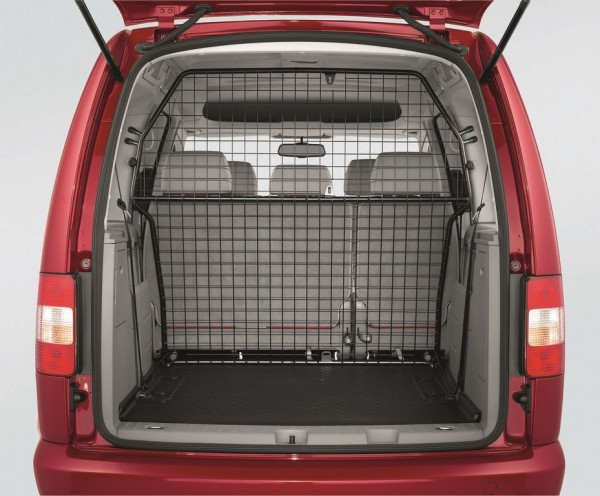 Trenngitter Hundeschutzgitter Trennwand quer Original VW Caddy Ladefläche Kofferraum Trennung