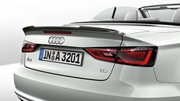 Heckklappenspoiler Carbon Original Audi A3 S3 Cabrio Spoiler Heckspoiler Tuning