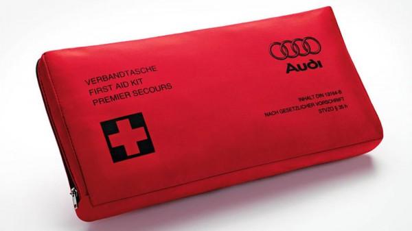 Verbandtasche Original Audi Erste Hilfe, Verband nach DIN13 164-2014