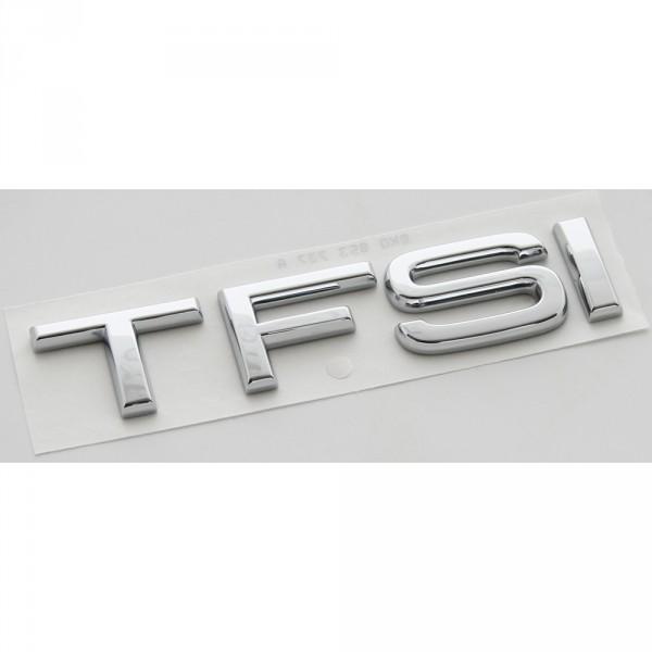 Original Audi TFSI Schriftzug hinten Heckklappe Emblem Logo Zeichen chrom
