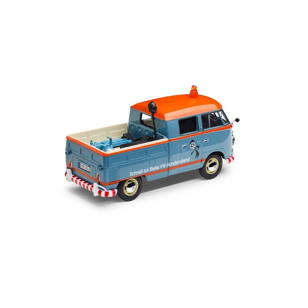 original vw t1 pickup kundendienst servicewagen 1 24 bulli. Black Bedroom Furniture Sets. Home Design Ideas