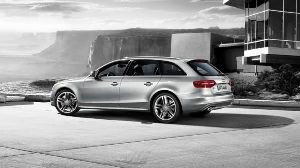 Spoiler Tuning-Set Audi S4 Original Audi A4 8K Heckdiffusor Chrom Leiste