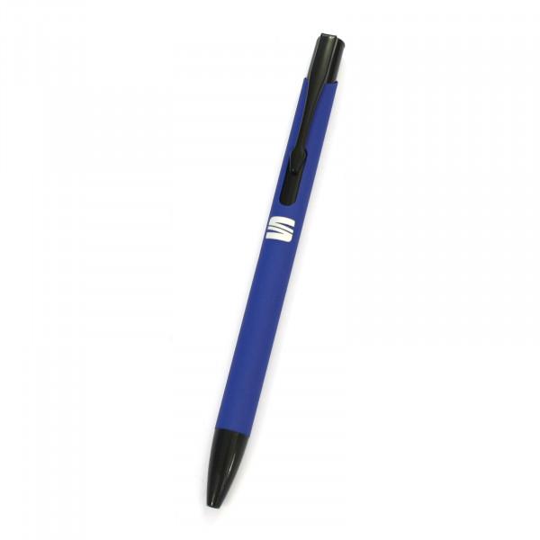 Original Seat Kugelschreiber Softtouch Stift Logo blau Accessoires 6H2087210KAJ