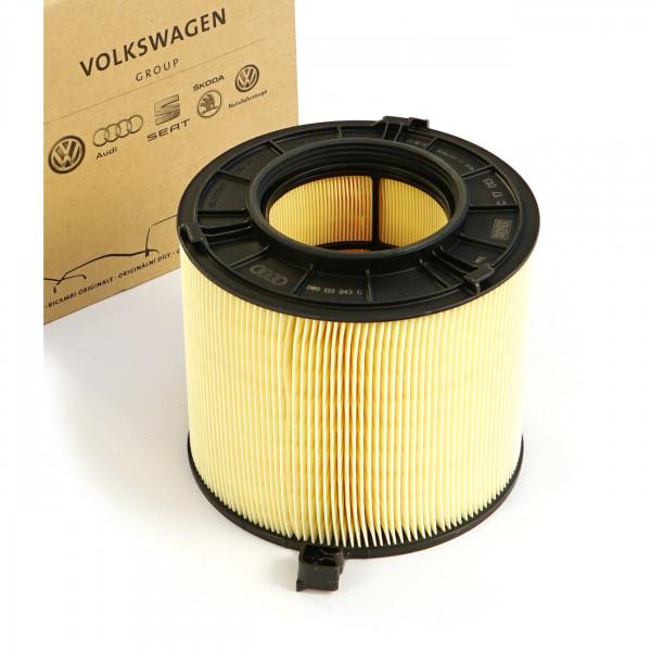 Original Audi Luftfilter Filter Luftfiltereinsatz TFSI Service Inspektion 8W0133843C