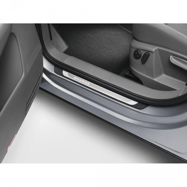 VW Sharan 7N Einstiegsleisten Set Edelstahl Original 4x Leisten Türschweller 7N0071303