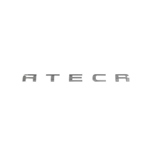Original Seat Ateca Schriftzug hinten Heckklappe Emblem Logo Zeichen chrom