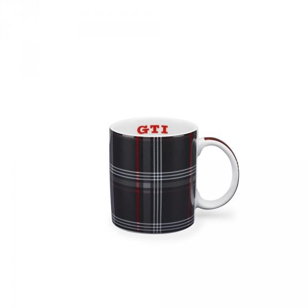 Original VW GTI Tasse Becher Kaffeetasse Clark Design schwarz/rot 5KA069601