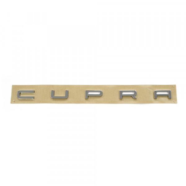 Original Seat Cupra Schriftzug hinten Heckklappe Tuning Emblem chrom
