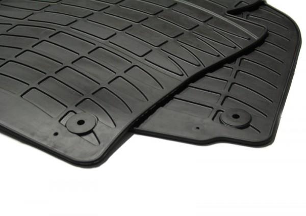 """Gummifußmatten """"Plus"""" Original VW Passat 3C B6 B7 CC Fußmatten, vierteilig, schwarz"""