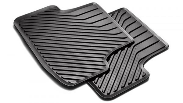 Gummifußmatten hinten Original Audi A3 (8V) 3-Türer Gummi Fußmatten Allwetter