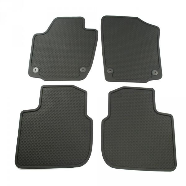 Original Seat Toledo IV (KG) Gummi Fußmatten Allwettermatten 4x Gummimatten v+h schwarz