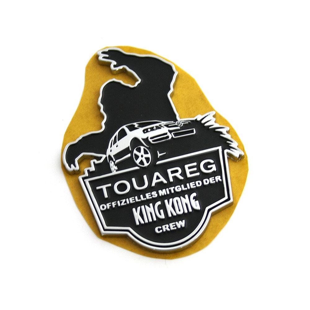 vw touareg 7l king kong schriftzug original s ule b emblem logo seitlich oem ebay. Black Bedroom Furniture Sets. Home Design Ideas