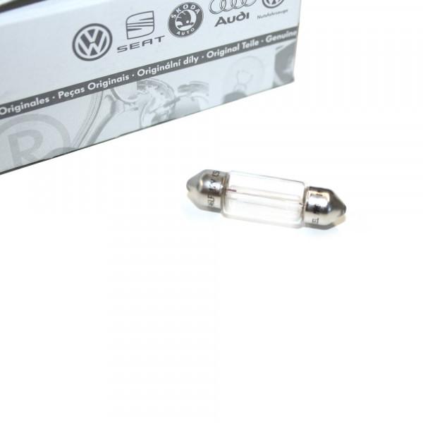 Glühlampe Glühbirne Original VW Leuchtmittel LongLife Kennzeichenleuchte N0177254