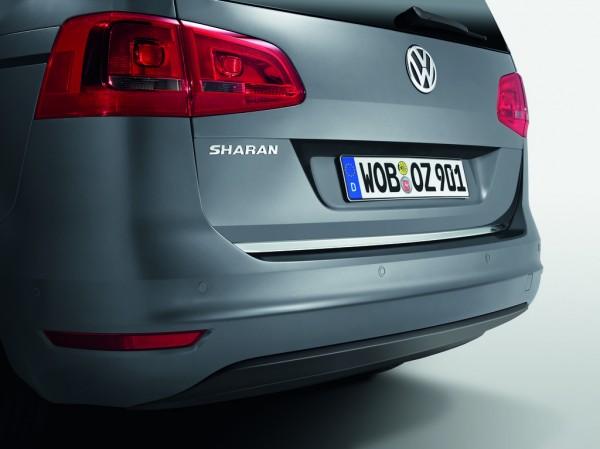Schutzleiste Heckklappe Original VW Sharan Zierleiste Kofferraumklappe Chromoptik