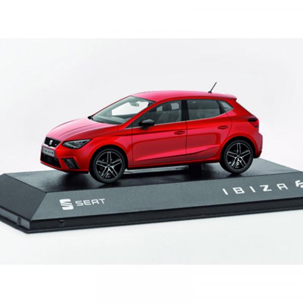 Seat Ibiza FR Modellauto 1:43 Original Miniatur Auto Desire Red