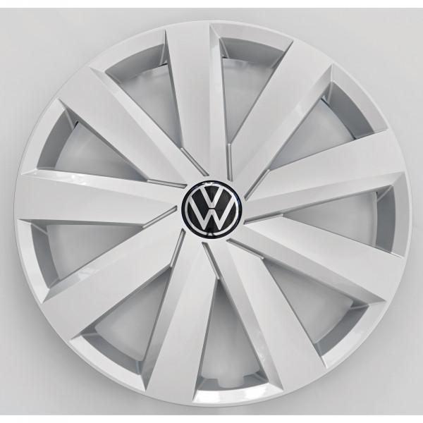 Original VW Passat B8 Radzierkappe feinsilber 16 Zoll Radzierblende Stahlfelge 3G0601147AUWP