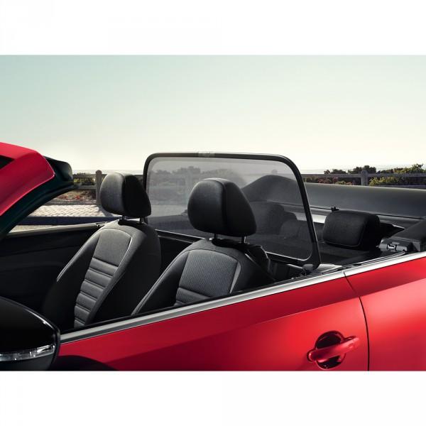 original vw beetle 5c cabriolet windschott schwarz. Black Bedroom Furniture Sets. Home Design Ideas